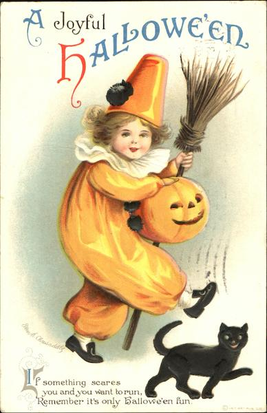 A Joyful Halloween Ellen Clapsaddle