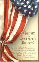 Greetings On Washington's Birthday