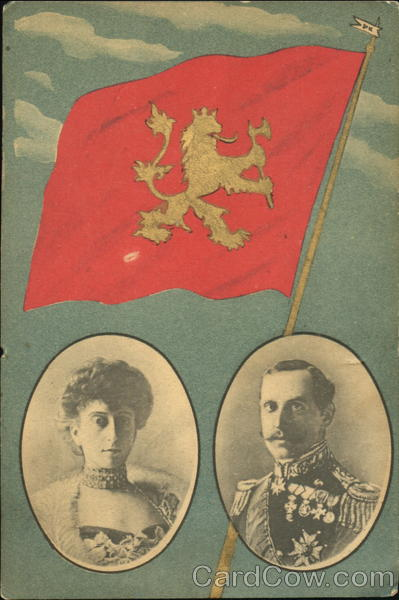 King Haakon VII and Queen Maud of Norway. (Haakon VII reigned 1905 – 1957.)