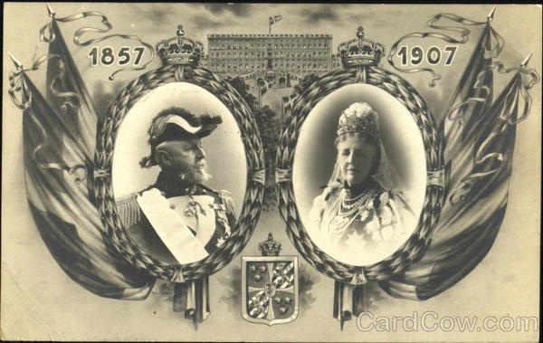 1857 and 1907 Swedish Royalty Sweden