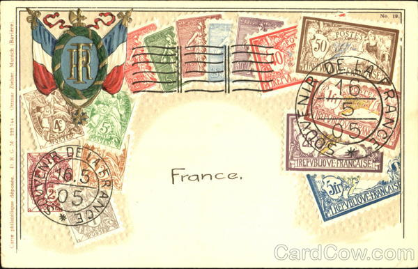 Stamps From France