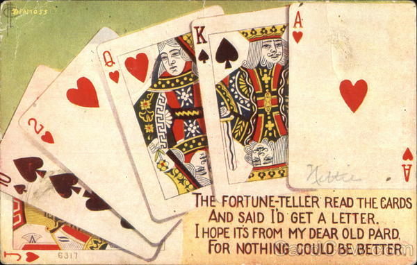 A Hand of Playing Cards Card Games