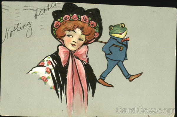 Woman and Frog Frogs