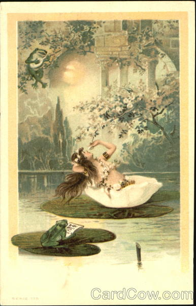 Venus on a Lillypad Frogs
