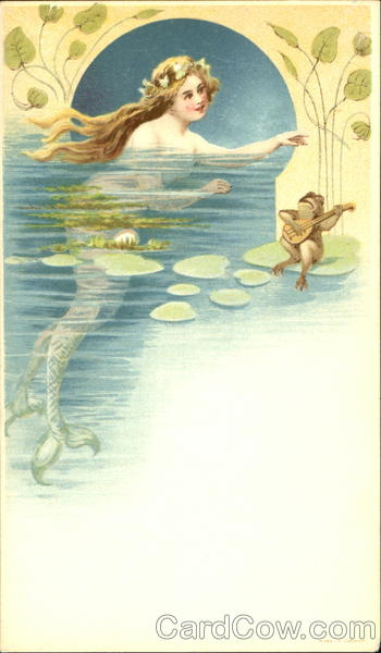 Mermaid and Frog Frogs