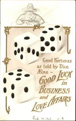 Good Luck In Business And Love Affairs