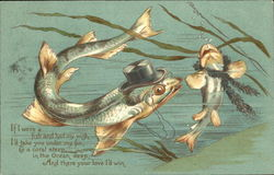 Courting Fish