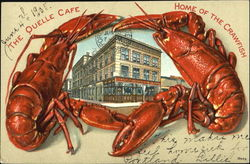 The Quelle Cafe Home Of The Crawfish