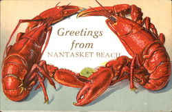 Greetings From Nantucket Beach