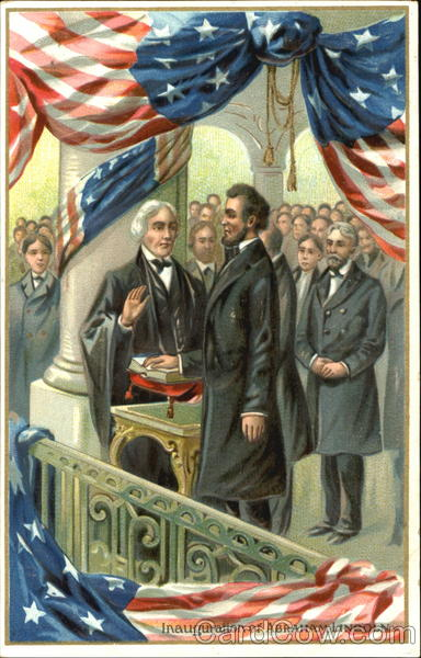 Inauguration Of Abraham Lincoln President's Day