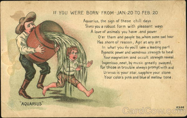 If You Were Born From Jan. - 20 To Feb. - 20 Aquarius