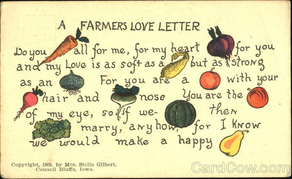 A Farmer's Love Letter Fruit