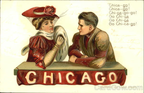 University of Chicago Illinois F. Earl Christy College Girls