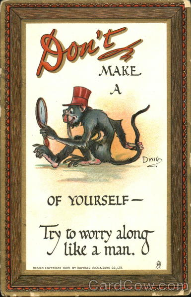 Don't Make A Monkey Of Yourself DWIG