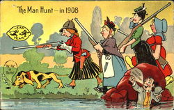 The Man Hunt In 1908