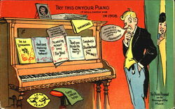 Try This On Your Piano In 1908