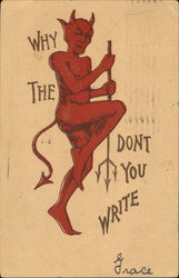 Why The Devil Don't You Write