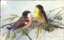 Two Birds Painting