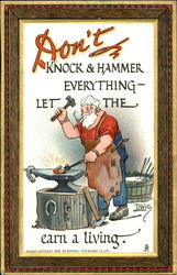 Don't Knock And Hammer Everything