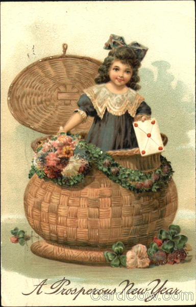 Girl in a Basket Girls