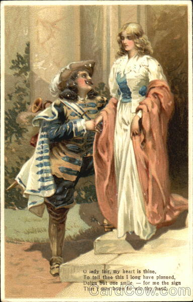 Cyrano de Bergerac with Woman Romance & Love