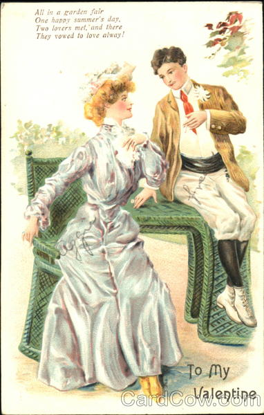 Gibson Girl Valentine's Day Romance & Love
