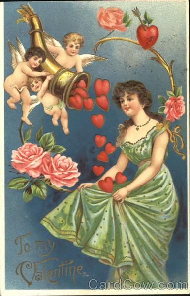 A Valentine's Day Cornucopia of Hearts for a Pretty Young Woman