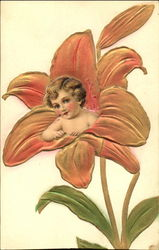 Toddler in a Lily