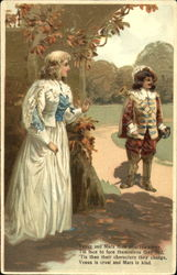 Gentleman and Maid Meet Privately