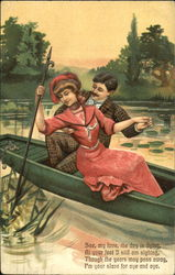 Couple in Rowboat