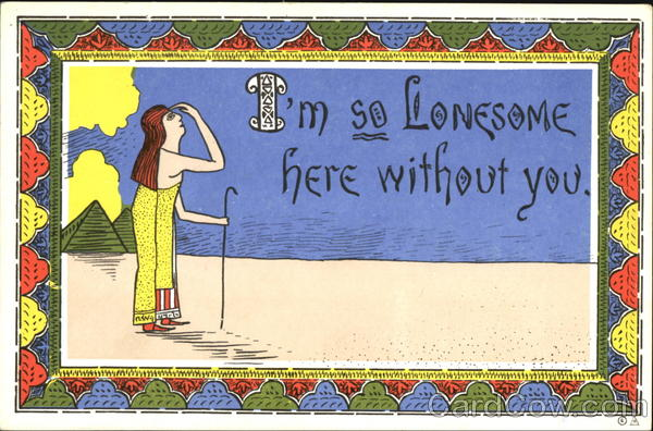 I'm So Lonesome Here Without You Comic, Funny