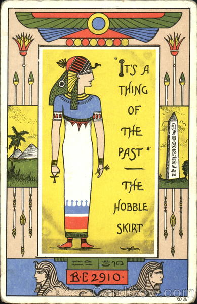 It's A Thing Of The Past The Hobble Skirt Comic, Funny