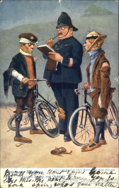 Bicycle Accident John Hassall Bicycles