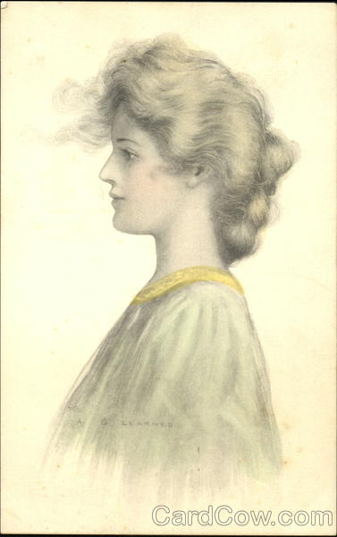 Profile of a Young Woman A. Learned Women