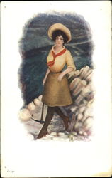 Woman with Pick-Axe