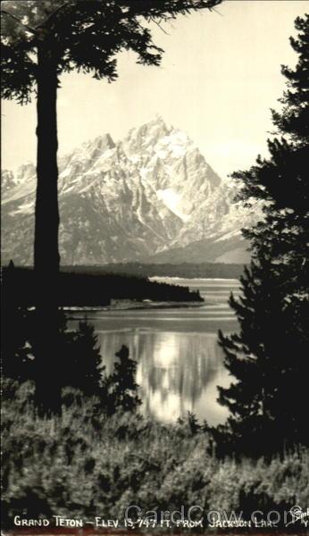 Grand Teton Scenic Wyoming