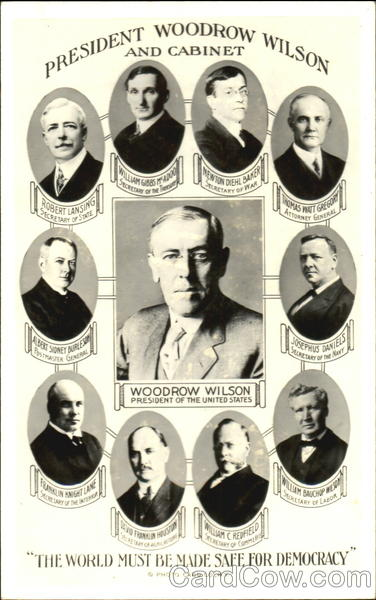 President Woodrow Wilson and Cabinet Presidents
