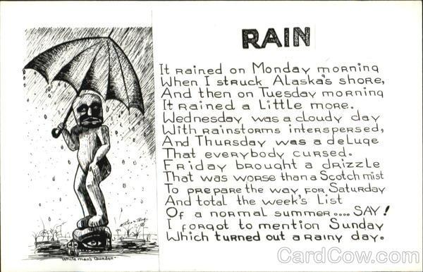 Rain Poems & Poets