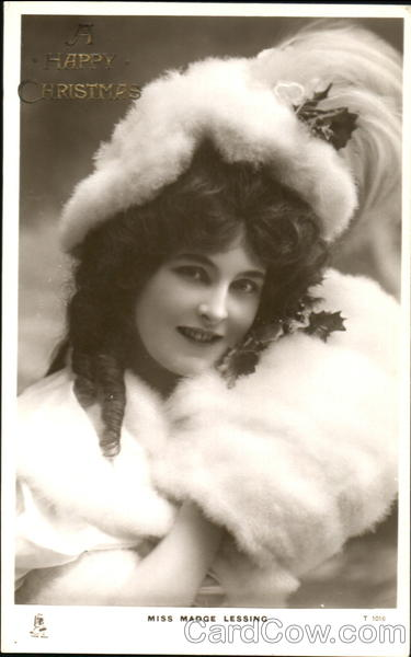 A Happy Christmas Miss Madge Lessing Actresses