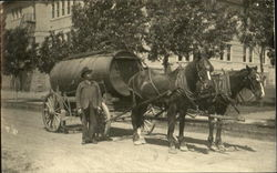 Water Delivery Wagon