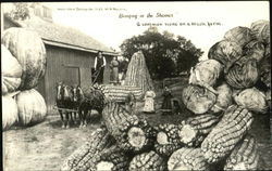 Bringing In The Sheaves Postcard