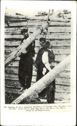 The Hanging Of Three Desperate Characters At Laramie City