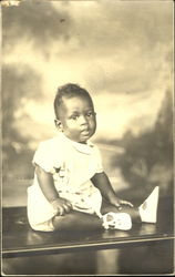 Portrait of Black Baby