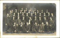 Class photograph - Boys' College