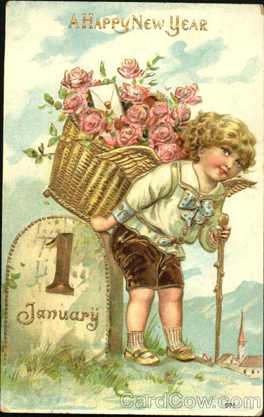 A Happy New Year Angels & Cherubs