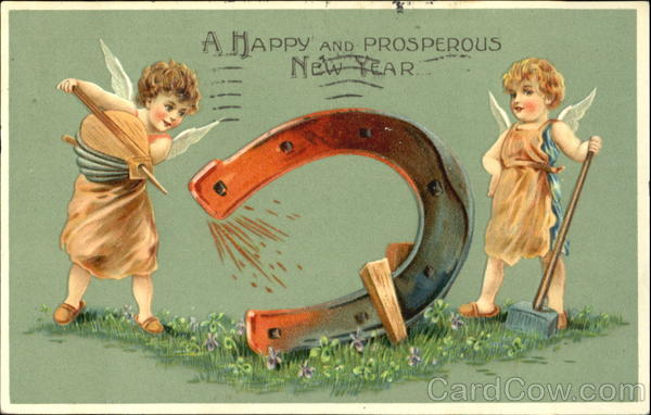 A Happy And Prosperous New Year Angels & Cherubs