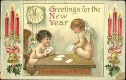 Greetings For The New Year The Old Year's Fortune