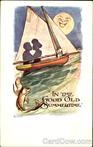 In The Good Old Summertime - Sailboat Romance & Love