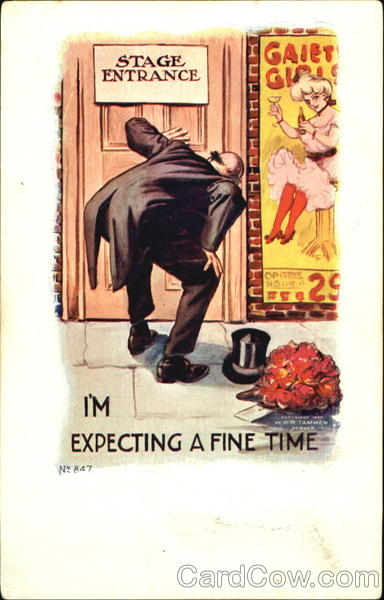 I'm Expecting A Fine Time - Voyeur Comic, Funny