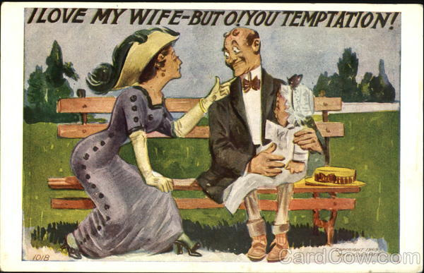I Love My Wife-But O! You Temptation Comic